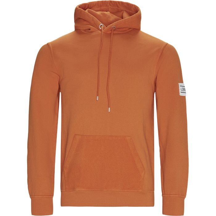 Borgo Hoodie - Sweatshirts - Regular - Orange